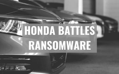 Honda Battles Ransomware